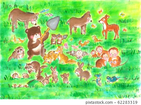 씨 뿌리는 숲의 동물들 62283319