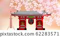 Cherry blossom, spring, tokyo 62283571