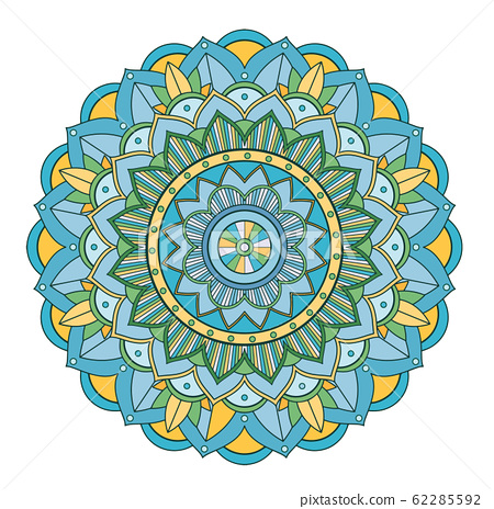 Mandala patterns on isolated background 62285592