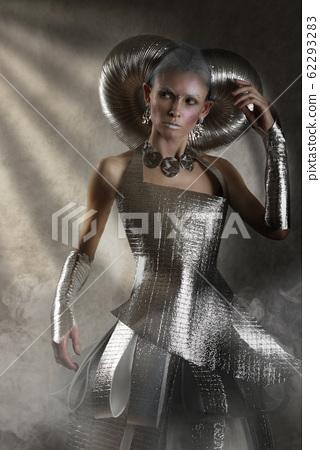 Queen of the cosmic spaces in the sunlight 62293283