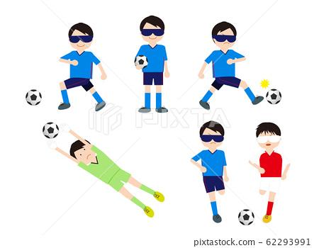 盲人足球男子套裝 62293991