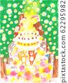 做橡子蛋糕的松鼠兄弟 62295982