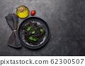 Black spaghetti pasta 62300507