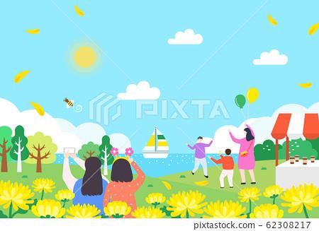 令人興奮的春天野餐插圖10 62308217