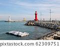 防波堤和燈塔 62309751