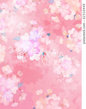 背景-日本-日本紙-日本風格-日本圖案-春天櫻花 62310449
