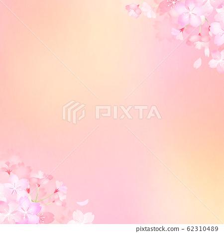 背景-日本-日本纸-日本风格-日本图案-春天樱花 62310489