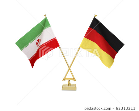 Table flags of two countries 62313213