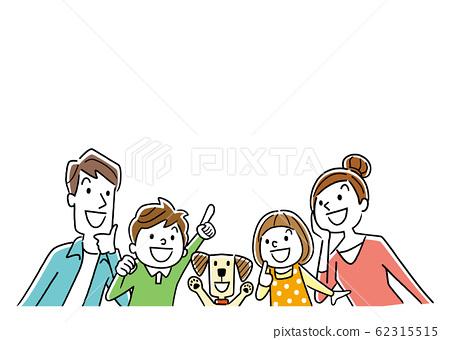 插圖素材:家庭,微笑,外觀 62315515