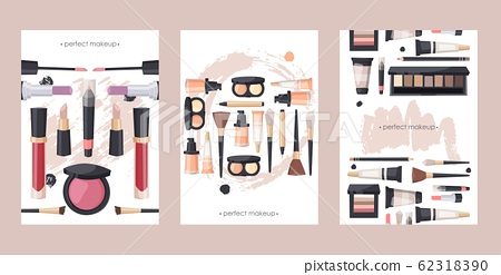 Makeup Product Catalog Cover Template