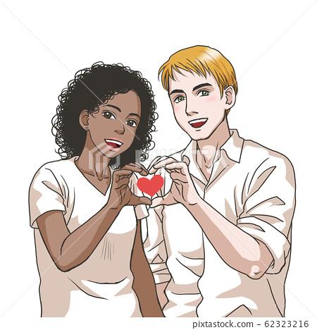 Love love couples (black women and white men) 62323216