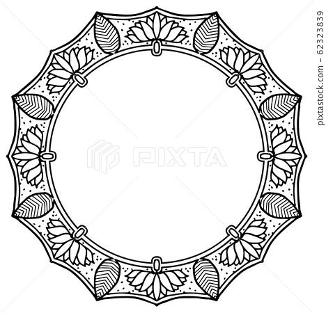 曼荼羅圖案,框架 62323839