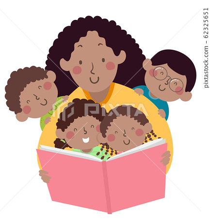 Kids Mom Teacher African Book Storytelling 62325651