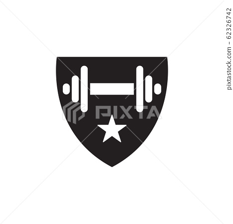 Fitness graphic design template vector isolated 62326742
