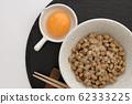 Natto and egg 62333225