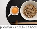 Natto and egg 62333229