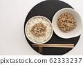 Natto and rice 62333237