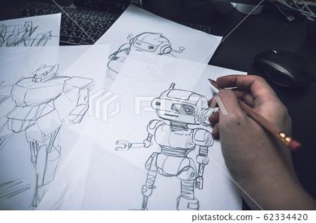 illustration 數字動畫 醫療插圖 62334420