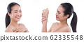 Woman has Beautiful smooth skin and whitening 62335548