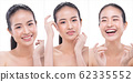 Woman has Beautiful smooth skin and whitening 62335552