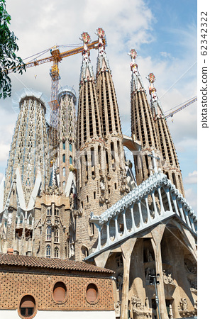 Sagrada Familia in Barcelona 62342322