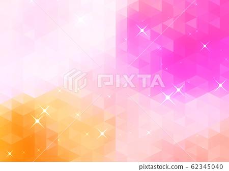 閃耀的幾何抽象背景 62345040