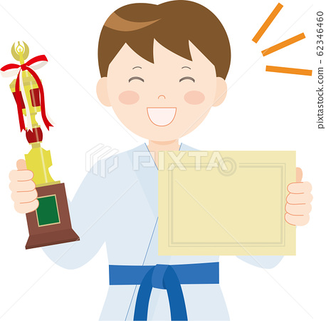 Karate, boy, trophy 2 62346460