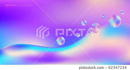 Abstract background trendy fluid gradient shape 62347234