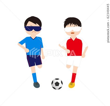 盲人足球男孩4 62349445