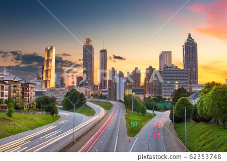 Atlanta, Georgia, USA Skyline 62353748