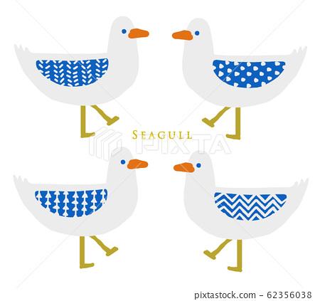 Seagull seagull illustration illustration picture fashionable 62356038