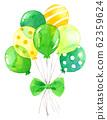 氣球(束)_黃綠色 62359624