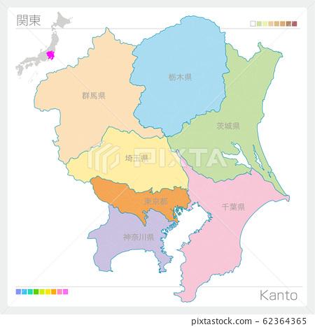 관동의지도 · Kanto 62364365