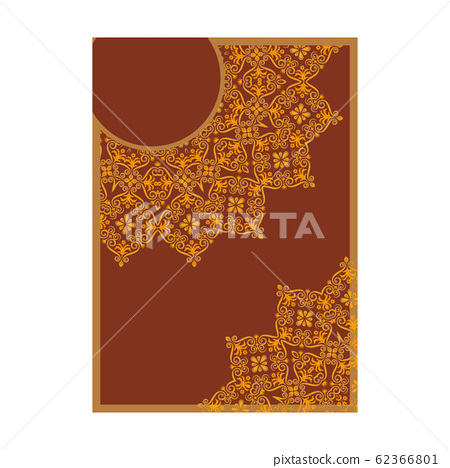 Luxury Premium cover design with mandala element 62366801
