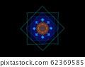 Abstract geometric pattern. Mandala. 62369585