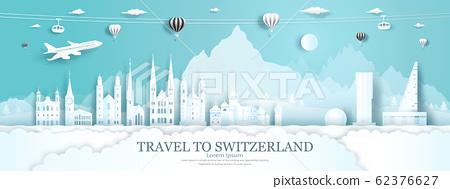 Travel panorama to switzerland top world famous 62376627