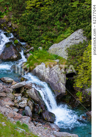 balea stream among the rocks 62377044