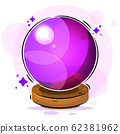 Magic ball Illustration Suitable For Greeting 62381962