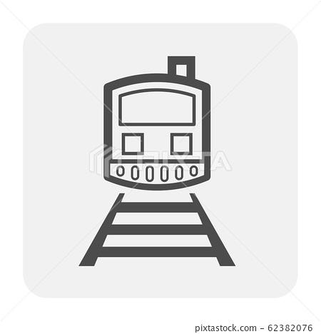train icon black 62382076