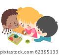Kids Classroom Pet Illustration 62395133