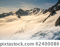 White snow covered mountain slope 62400086
