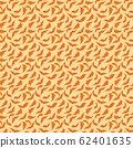 trendy 2020 fabric vintage colors seamless pattern, leaves vector background 62401635