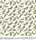 trendy 2020 fabric vintage colors seamless pattern, daisy vector background 62401637