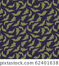 trendy 2020 fabric vintage colors seamless pattern, daisy vector background 62401638
