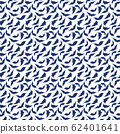 trendy 2020 fabric vintage colors seamless pattern, leaves vector background 62401641