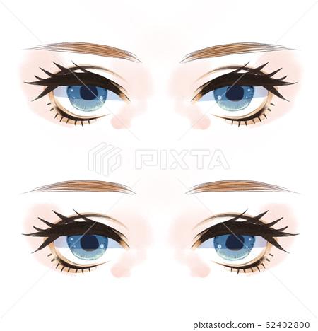 双妆睫毛 62402800