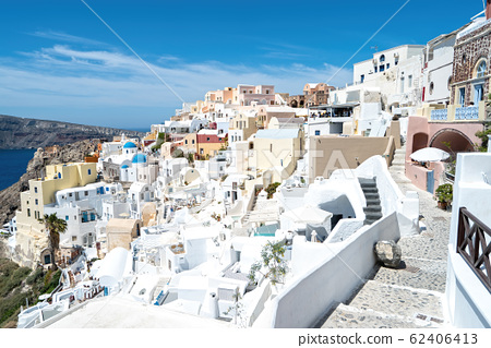 希臘聖托里尼島的城市景觀 62406413