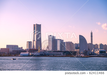 日本橫濱市容景觀橫濱海上防災基地(巡邏艇較少)= 2月5日 62411466