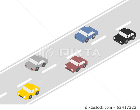 Cars and roads 62417222