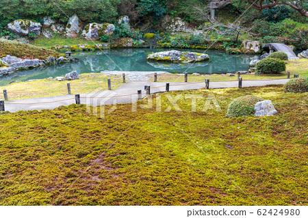 교토 青蓮院 2 월의 정원과 이끼 62424980